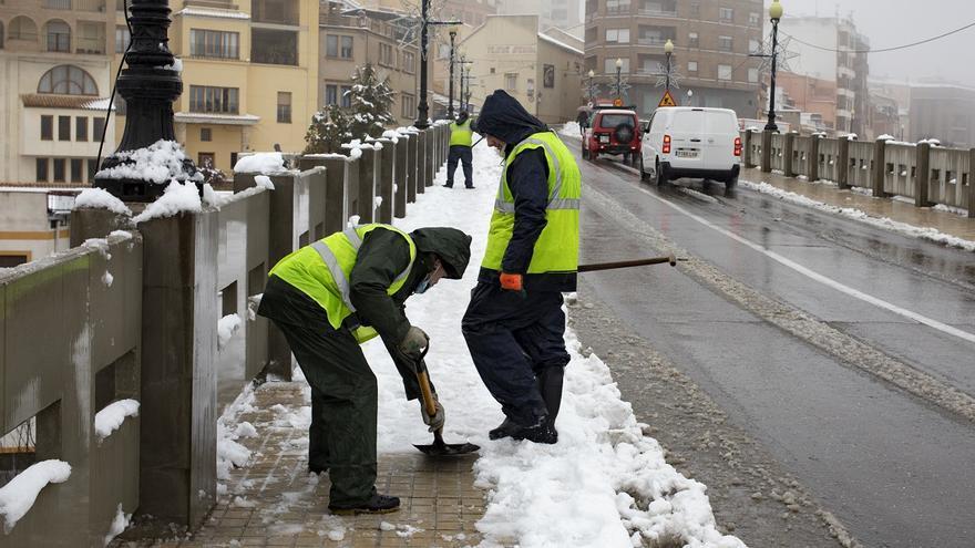 """Guardia Civil atiende """"multitud"""" de incidencias de vehículos que se habían dirigido a visitar zonas con nieve"""