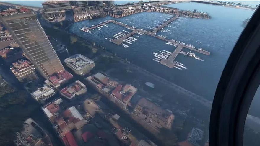 Así se ve Alicante con Microsoft Flight Simulator 2020