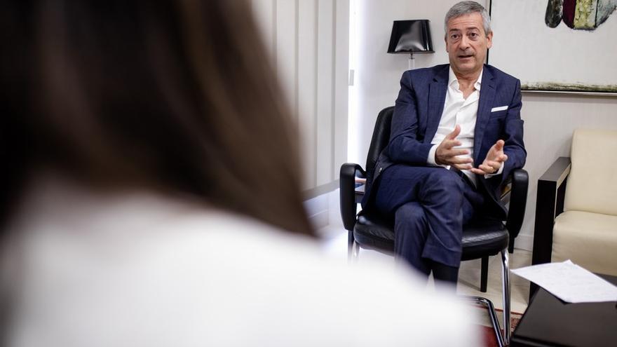 """Agustín Manrique de Lara, sobre los cambios en el REF: """"Merecemos respeto a nuestros fueros"""""""