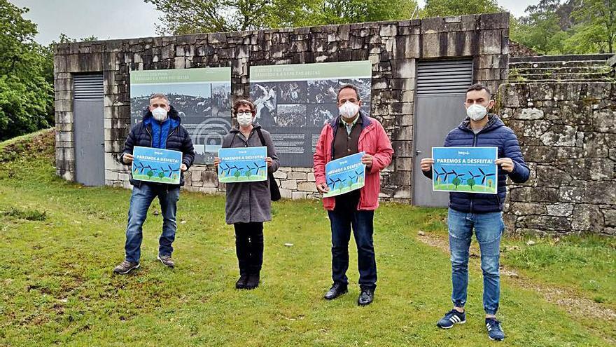 BNG de A Estrada y Cerdedo-Cotobade se unen contra el eólico Campo das Rosas