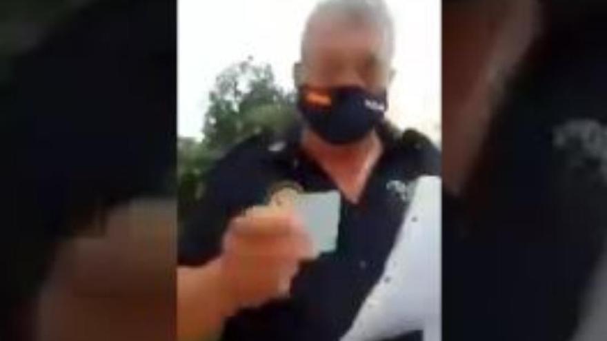 Detenida la mujer que pidió el 'habeas corpus' tras la multa por no llevar mascarilla