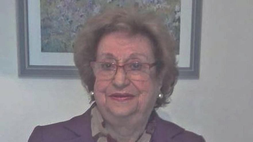 Rosario Palma, 91 años y a la espera de ser vacunada