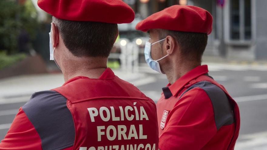 Hallado un cadáver en la carga de un camión de recogida de cartón en Pamplona