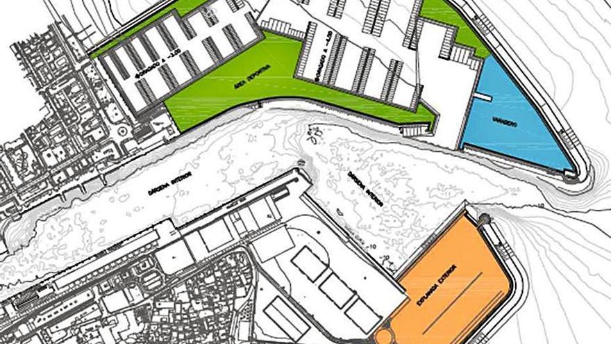 El Puerto cumple con Gandia y retira la ampliación norte, como pidió el ayuntamiento