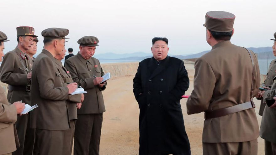 """Pyongyang prueba una nueva """"arma táctica ultramoderna"""""""
