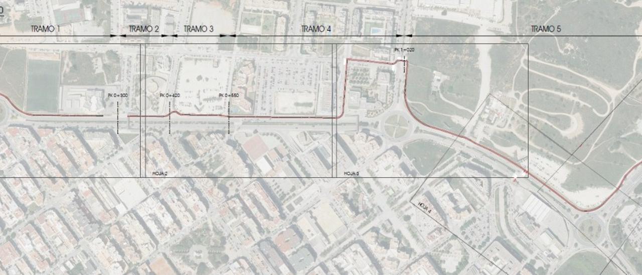 El Consell de Ibiza da luz verde al carril bici que unirá la E-10
