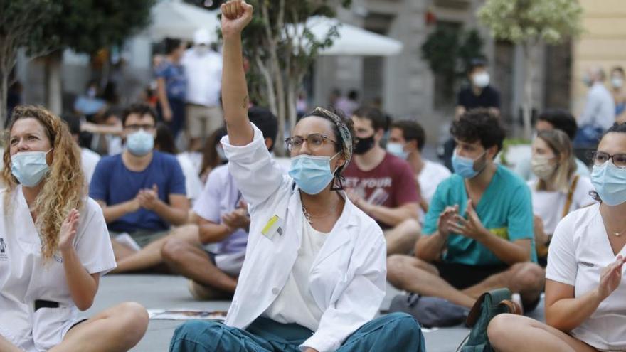 Los sindicatos aseguran que el seguimiento de la huelga de médicos es del 85%