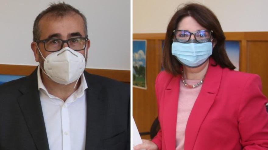 Navarro y Cabezuelo presentan sus candidaturas al Rectorado de la UA