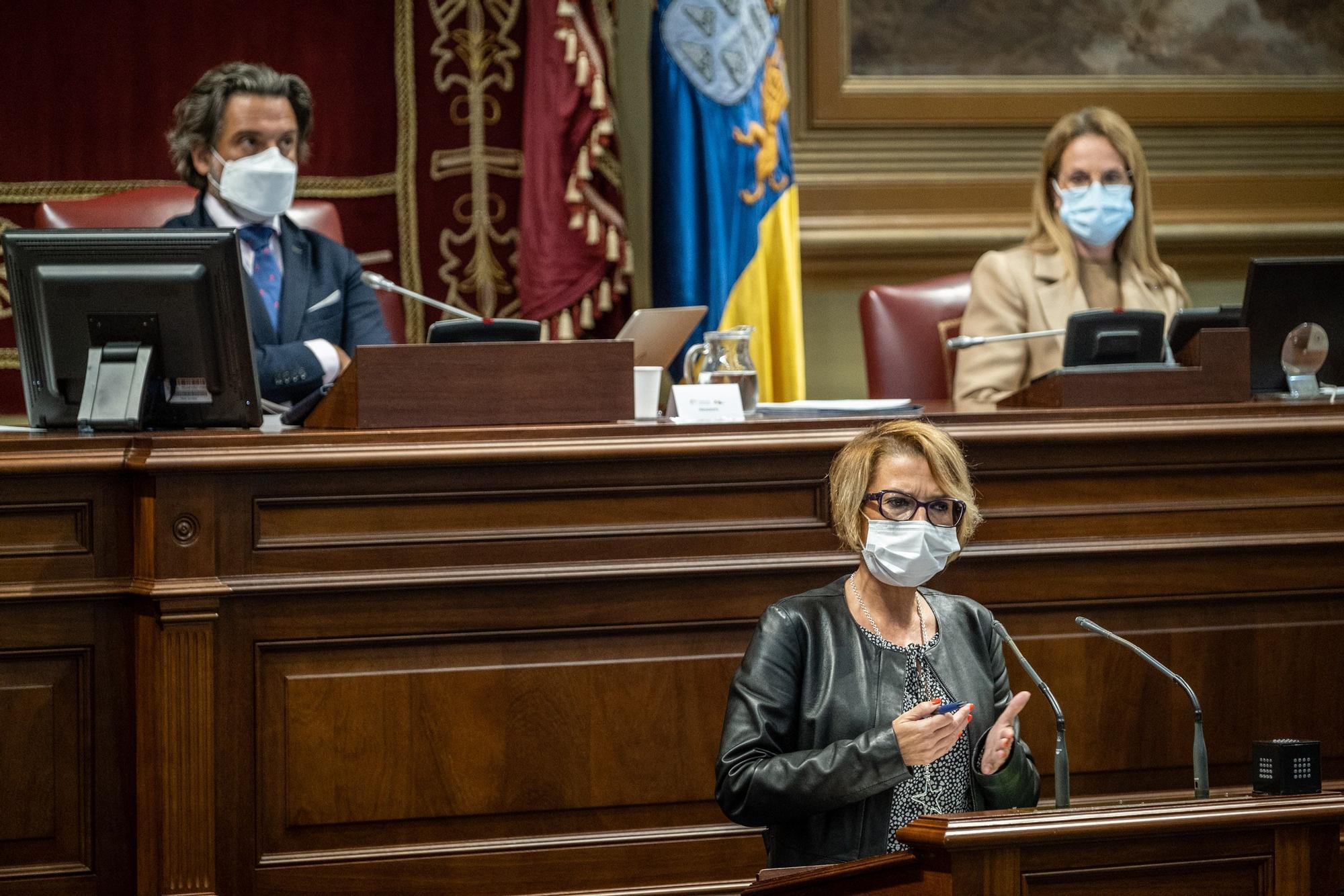 Pleno del Parlamento de Canarias | 10-2-2021