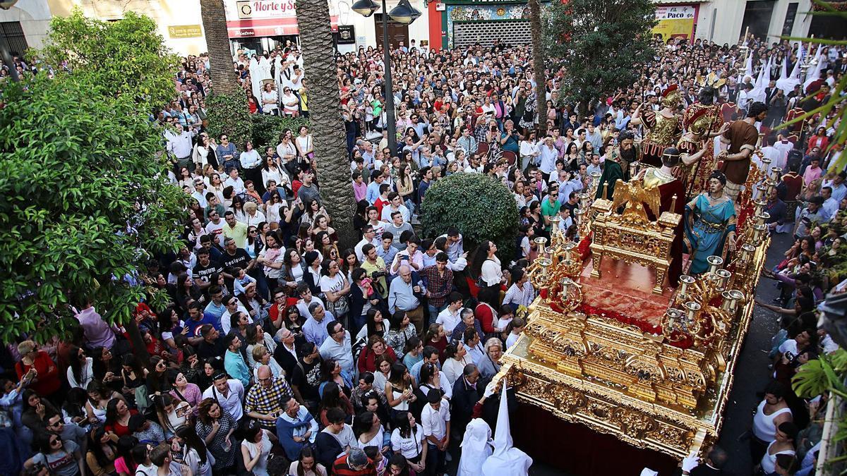 Imagen de la Semana Santa del 2019, la última celebrada sin restricciones.