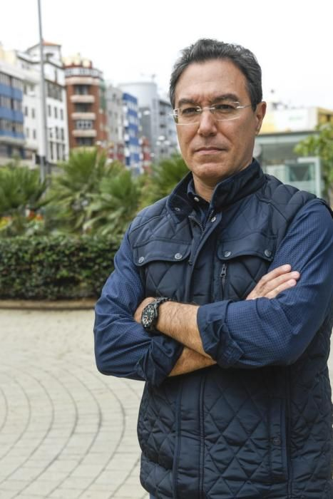 Fernando Espino, biólogo marino del Instituto Ecoaqua de la ULPGC