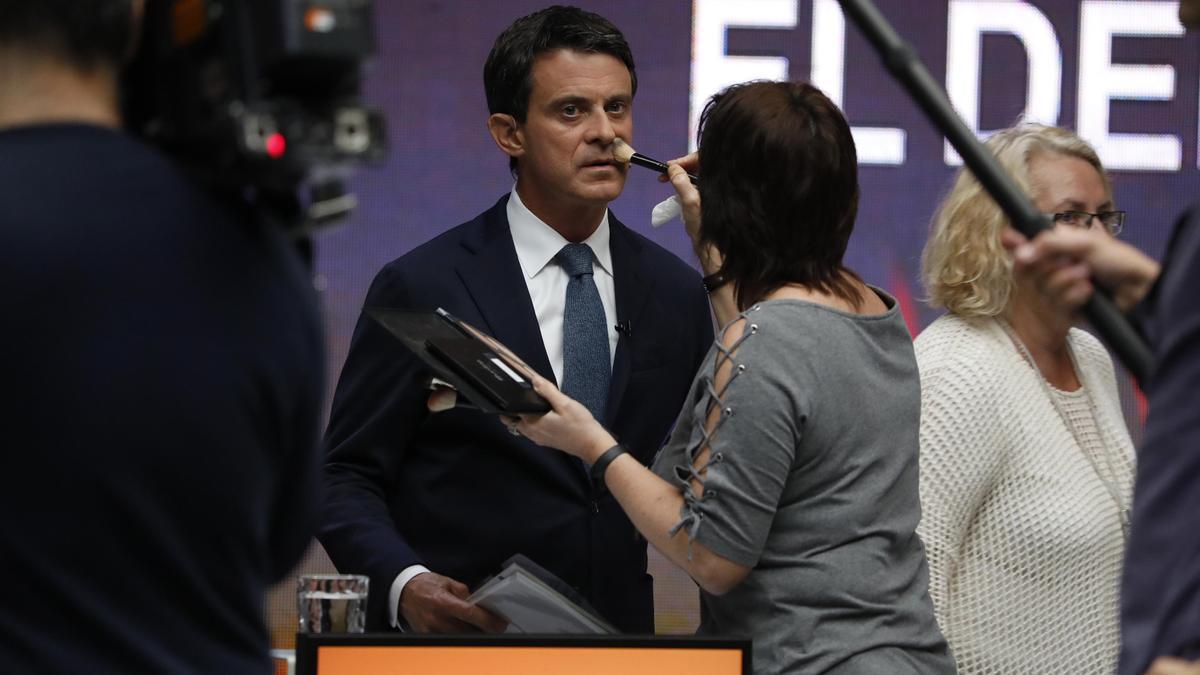 Una imagen de Manuel Valls.