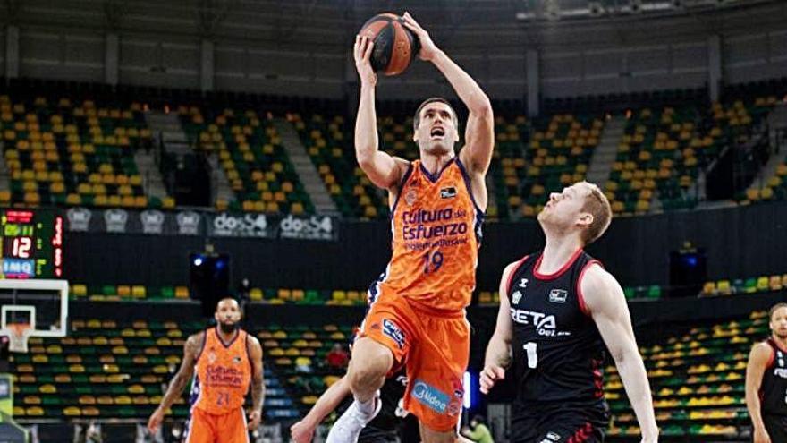 Horario y dónde ver el Valencia Basket - RETAbet Bilbao