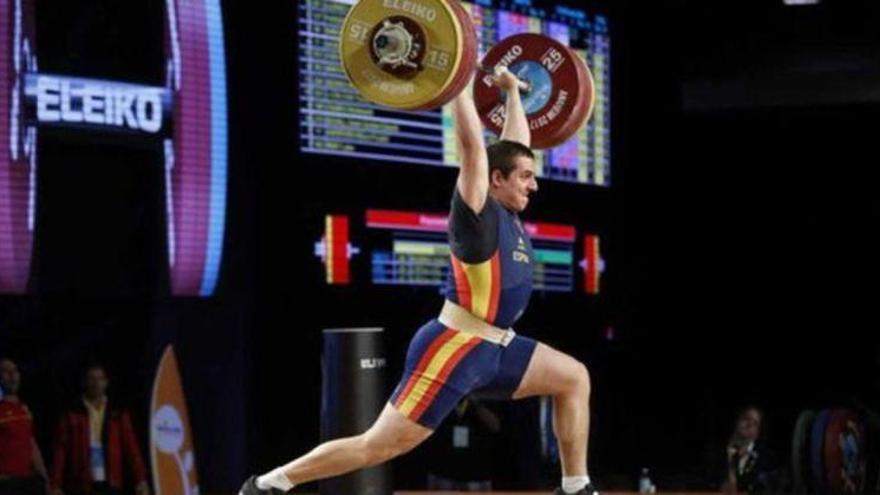 El español Marcos Ruiz da positivo en el Mundial de halterofilia