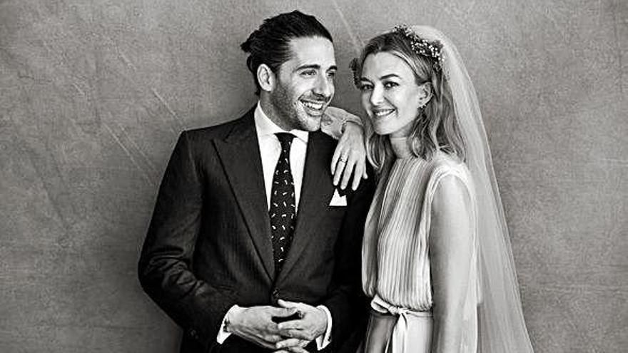 Ortega y Torretta, un año de casados