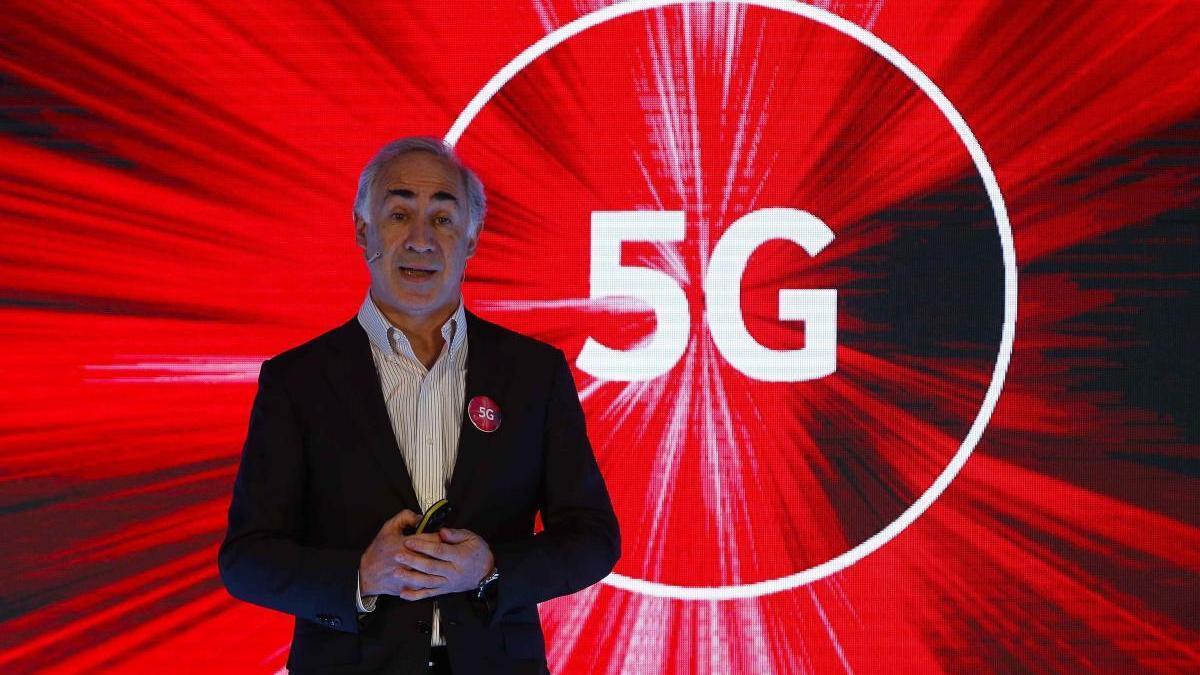 António Coimbra, presidente de Vodafone España.