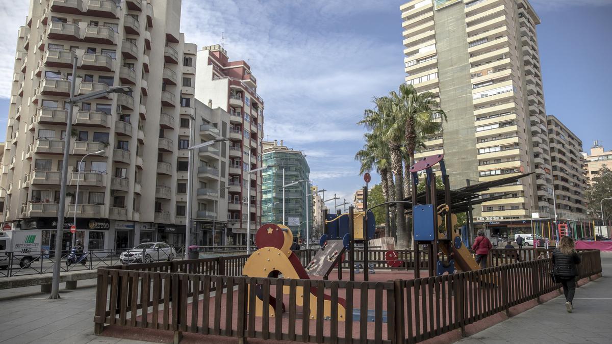 Viviendas situadas cerca de un parque infantil son las mejor cotizadas.