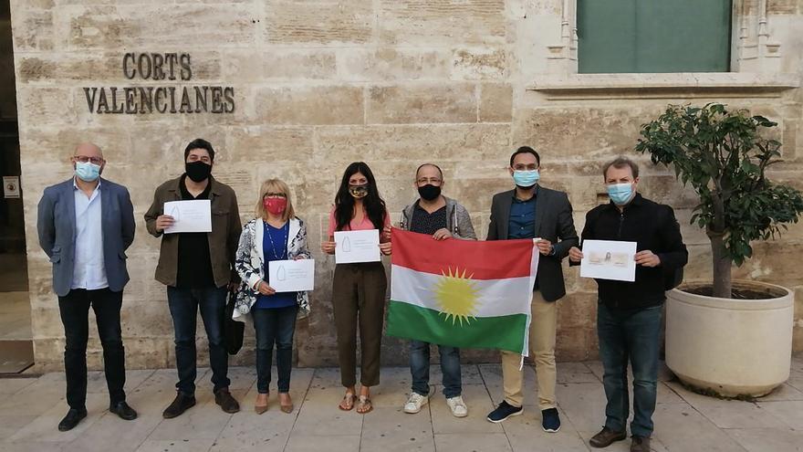 Las Corts Valencianes han aprobado una PNL en apoyo al Kurdistán y contra la invasión de Turquía