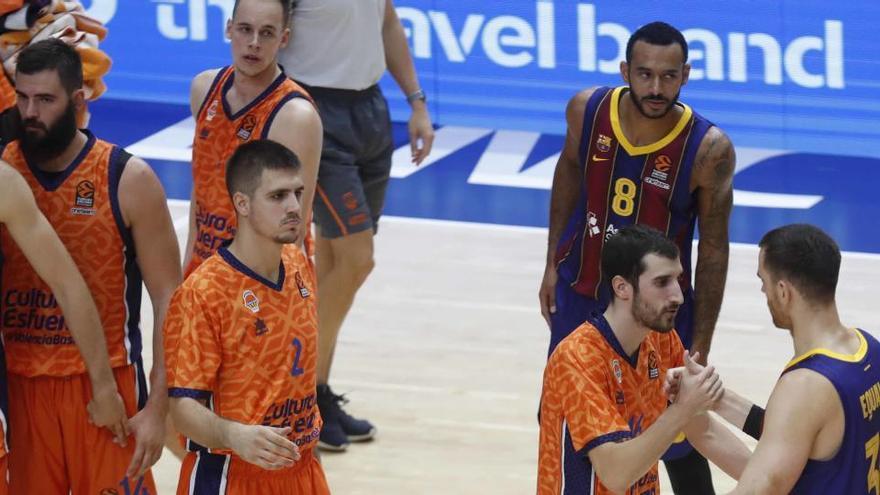 El Barça asalta la Fonteta y derrota al Valencia Basket