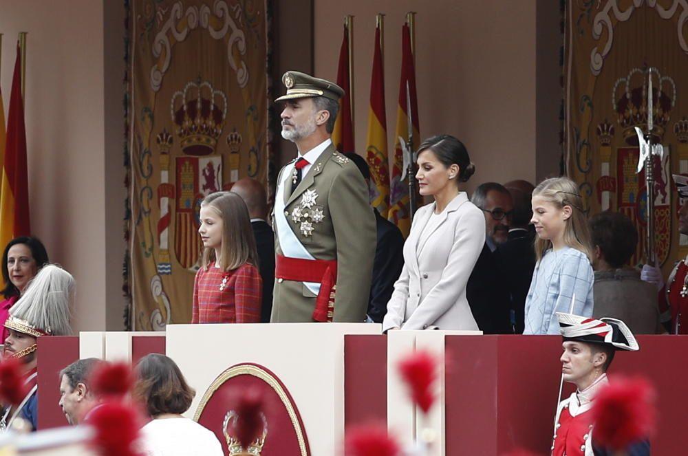 La princesa Leonor, el Rey Felipe VI, la Reina ...