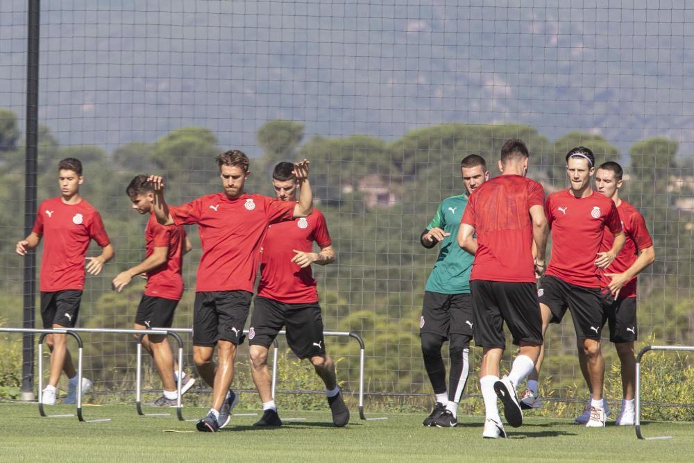 Primer entrenament de la pretemporada del Girona FC