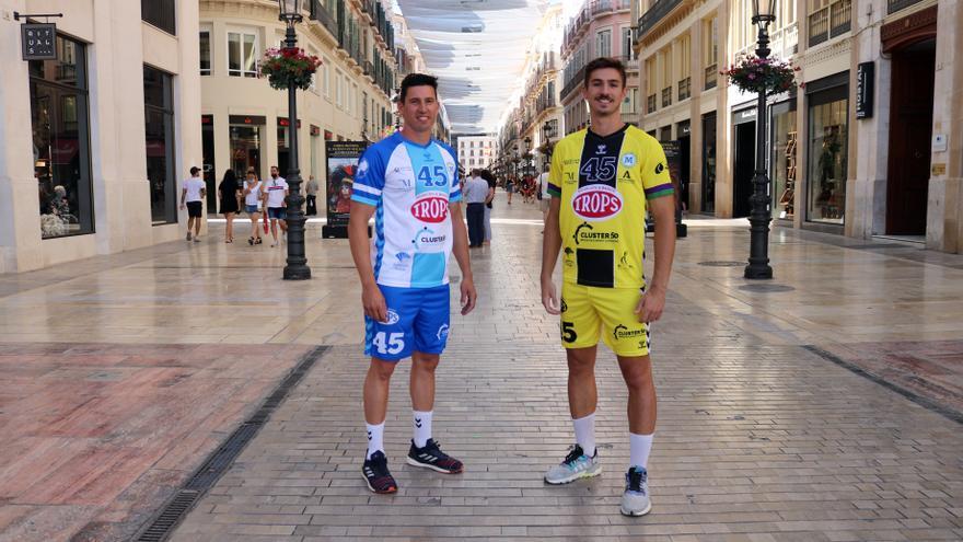 El Trops Málaga presenta las nuevas equipaciones