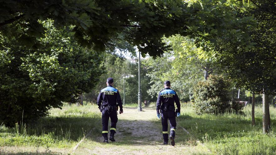Tres detenidos en una persecución por las calles de Salamanca tras una fiesta clandestina