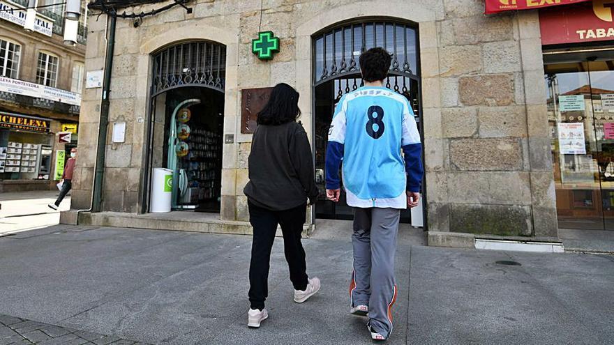 El cribado de los jóvenes en las farmacias de Pontevedra, a buen ritmo