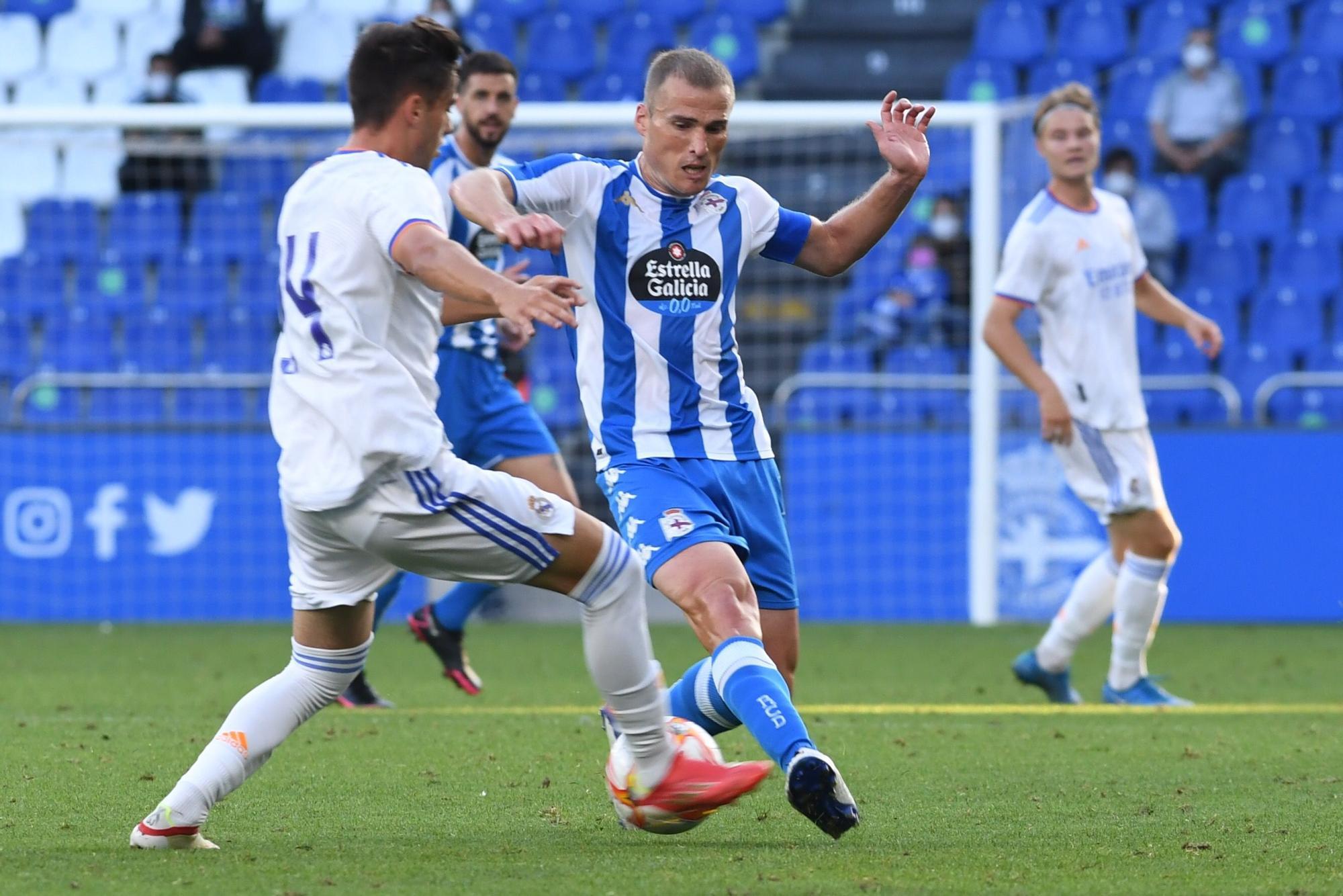 Deportivo 0 - 0 Castilla