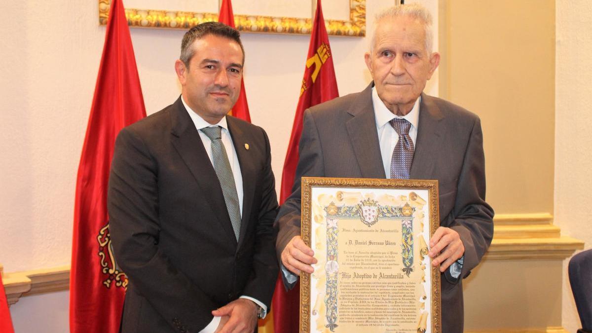 Fallece Daniel Serrano Várez, Hijo Adoptivo de Alcantarilla