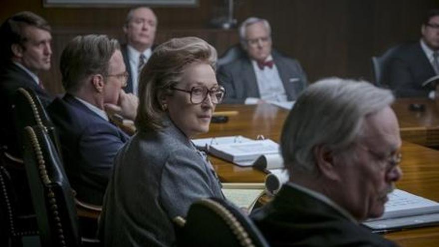 CRÍTICA | Spielberg denuncia l'atac a les llibertats a «Los archivos del Pentágono»