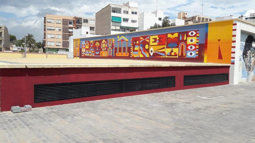 La plaza de l'Ordana de Sant Joan estrena nueva imagen