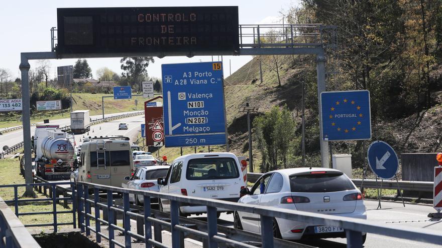 La A-55, la gran puerta para el tráfico rodado entre España y Portugal