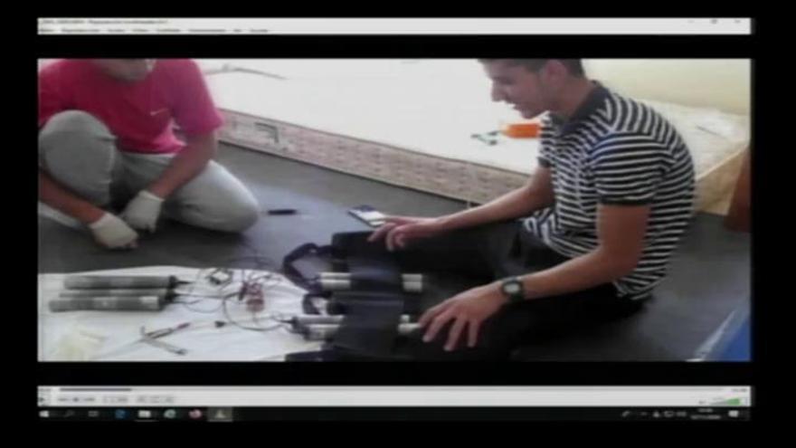 Vídeo: Los terroristas fabricando explosivos en Alcanar