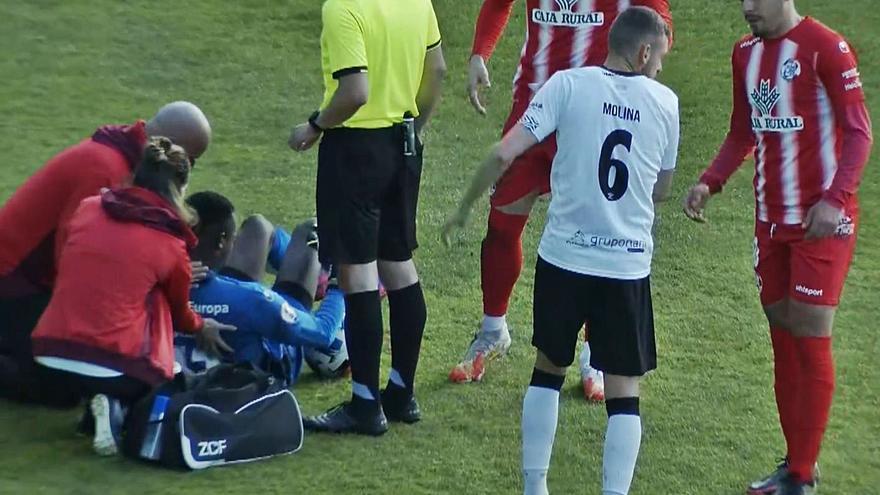 El guardameta juvenil Lucas acudirá con el Zamora CF a El Plantío