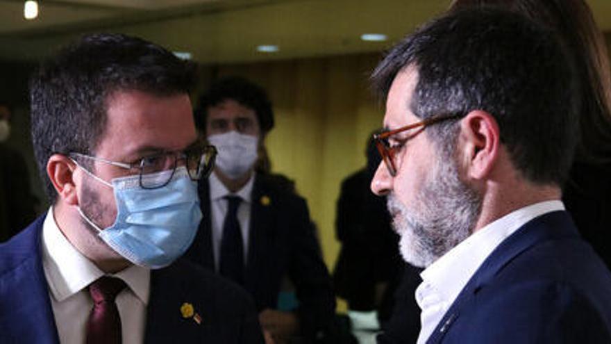 Jordi Sànchez avisa ERC: «No especularem amb eleccions; si volen, que governin en minoria»