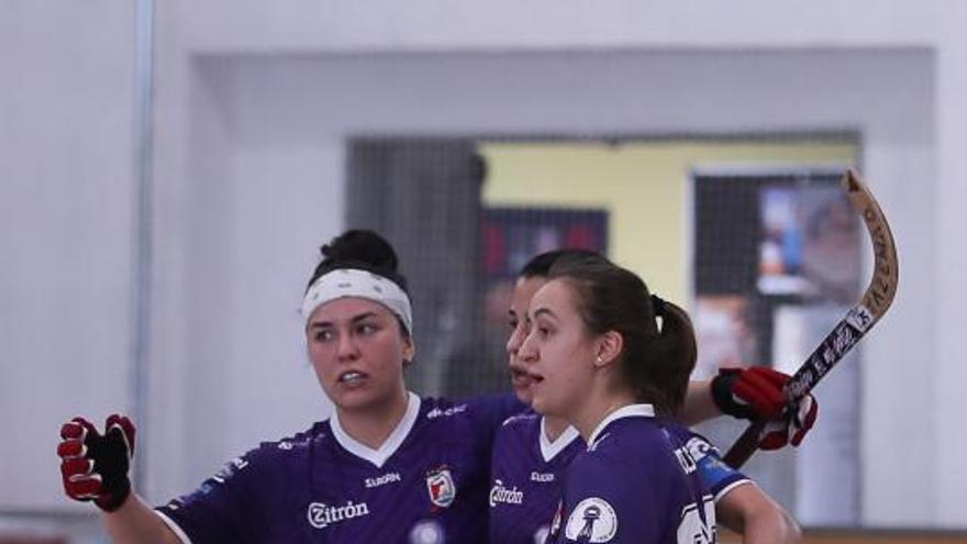 Hockey sobre patines: Un Telecable dominador pasa a semifinales de la Euroliga impulsado por Sara Roces