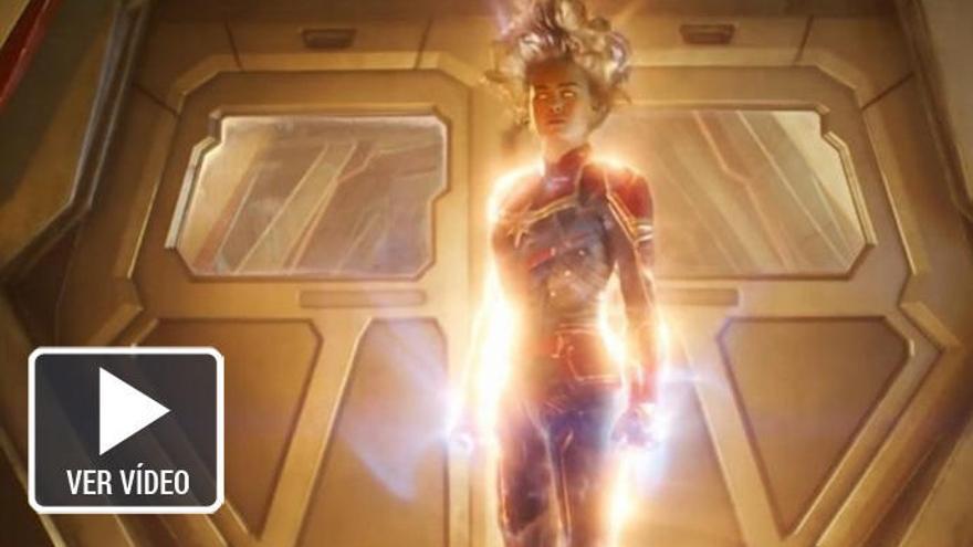 Así de espectacular es el tráiler de 'Capitana Marvel'
