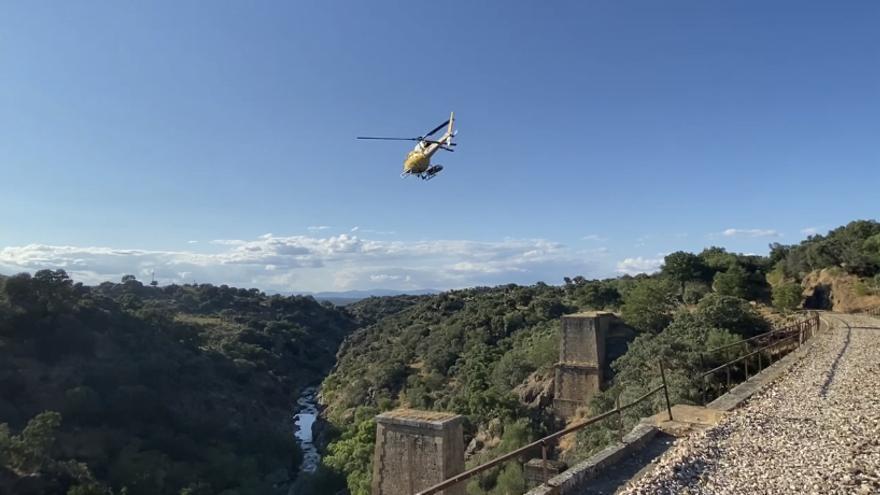 Encuentran el móvil del escalador desaparecido en una zona próxima al puente Gaston Bertier