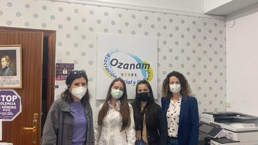 Alumnos del Cuatro Caminos forman a usuarios de Ozanam