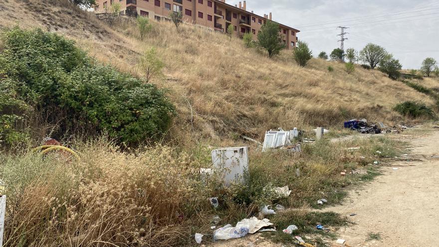 Zamora | SOS en Rabiche y el alto de San Frontis: suciedad y escombros