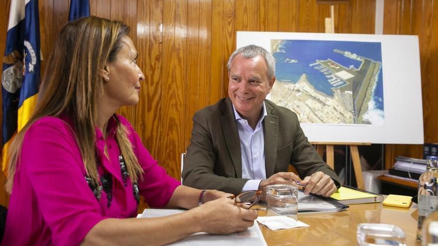 Agaete exige que los 45 millones del frustrado muelle de Las Nieves se queden en el municipio