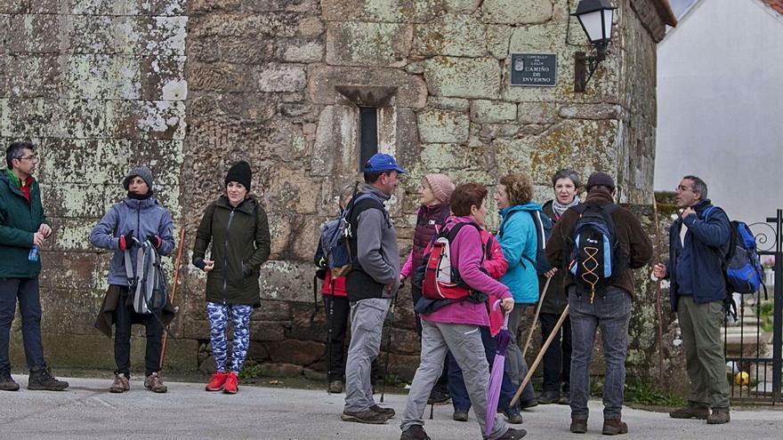 El Camino de Invierno cumple cinco años como ruta oficial con el albergue pendiente en Rodeiro