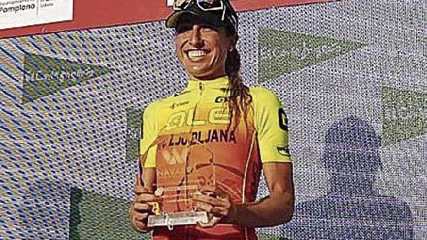 Mavi García es segunda en la primera etapa de la Vuelta a Navarra