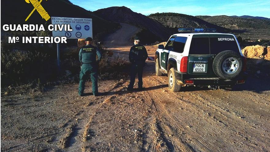 Investigado el responsable de una mina de Higueruelas por delitos medioambientales y no tener licencia