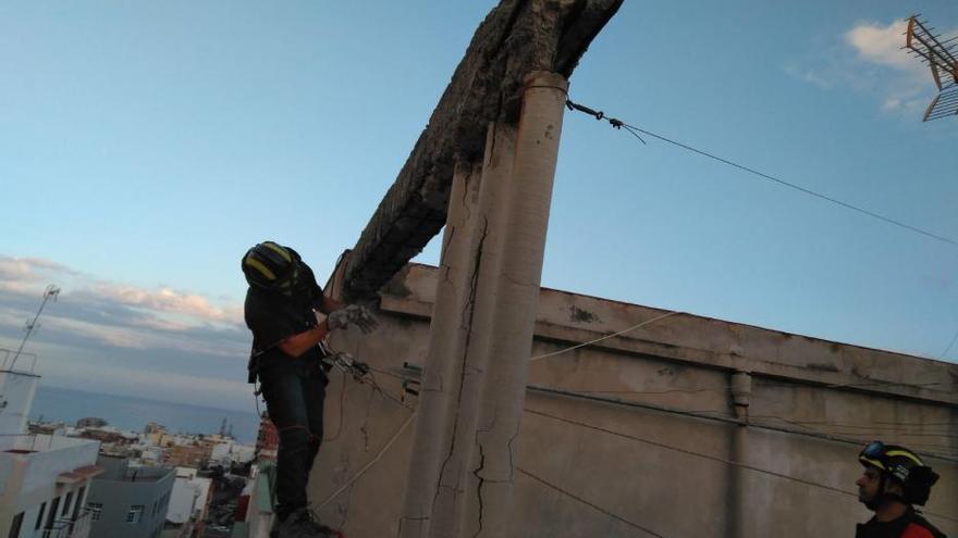 Extinguido un incendio en una vivienda en Miramar