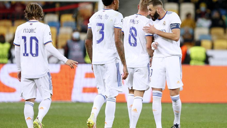 Vinicius relanza al Madrid en la Champions