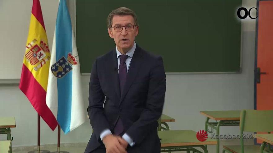 """Feijóo critica la """"inestabilidad"""" y la política """"cautiva de posiciones extremas"""" en su discurso de Fin de Año"""