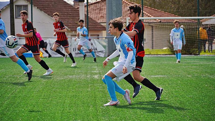 La Escola de Fútbol Lalín se queda sin su recompensa