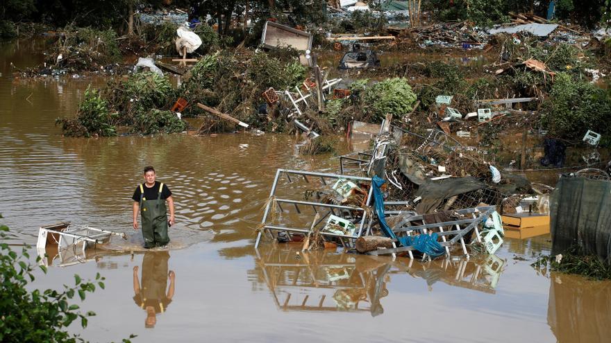Almenys 81 morts a Alemanya, 15 a Bèlgica i més d'un miler de desapareguts per les pluges torrencials